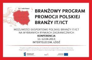 Konferencja dla przedstawicieli branży IT/ICT - zaproszenie